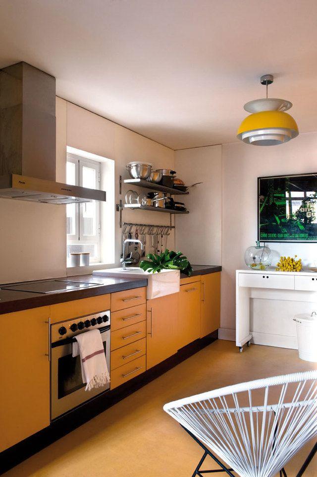 Una casa viva for Mesa apoyo cocina