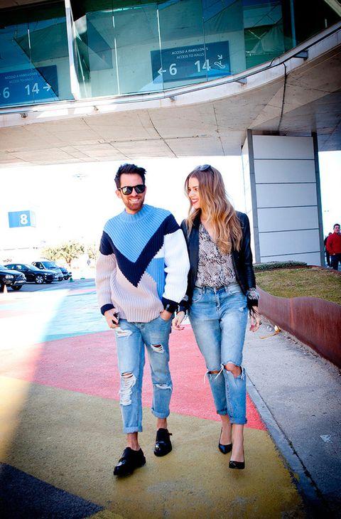 <p>Llegan al pabellón 14 con las pilas cargadas. Los protagonistas hoy son los Auténticos fashion influencers.</p>