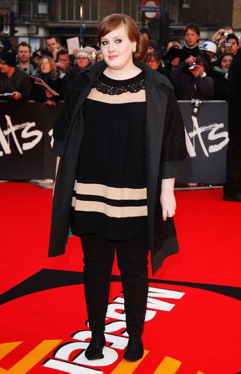 <p>Aunque sigue siendo fiel al negro como su color favorito, mucho ha cambiado el estilo de la cantante desde esta alfombra roja de los Brit Awards 2008.</p><p>&nbsp&#x3B;</p>