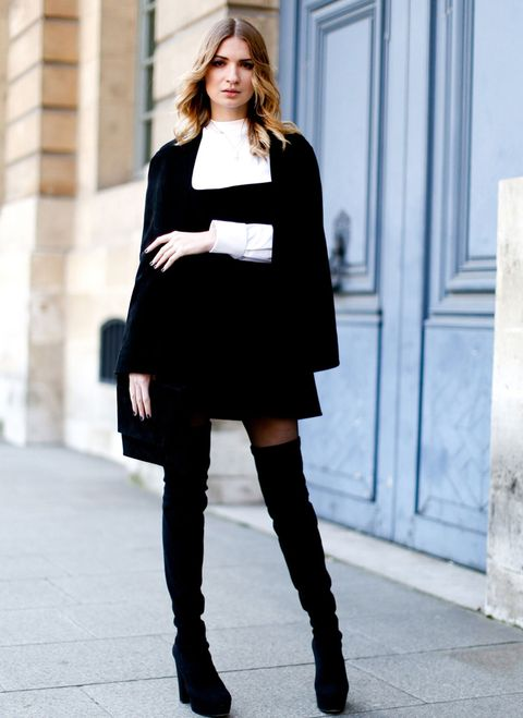 <p>Un binomio que no falla nunca, blanco y negro siempre es perfecto para un look de fiesta.</p>