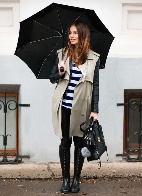 <p>Un look para la lluvia perfecto, suma todos los elementos para inspirarnos.</p>