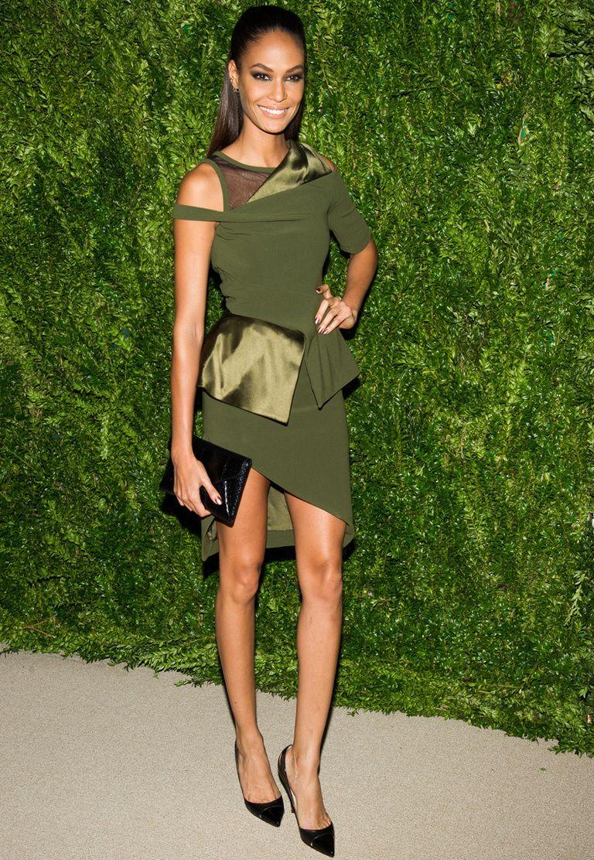Combinar vestido verde hoja