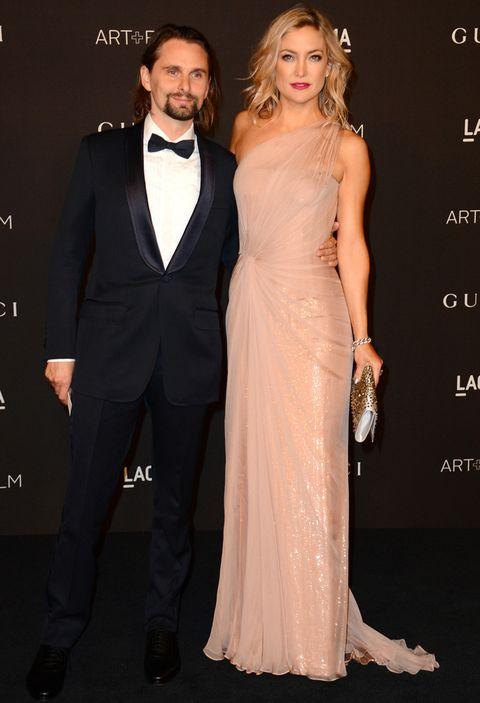 <p>La actriz acudió acompañada por su pareja, el músico<strong>Matthew Bellamy</strong>.</p>