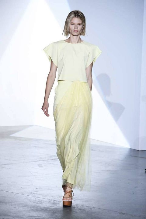 <p>Diseñador: Vionnet. <strong>Paris Fashion Week.</strong></p>