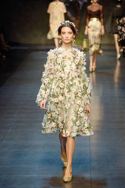 <p>Diseñador: Dolce &amp&#x3B; Gabbana. <strong>Milan Fashion Week.</strong></p>