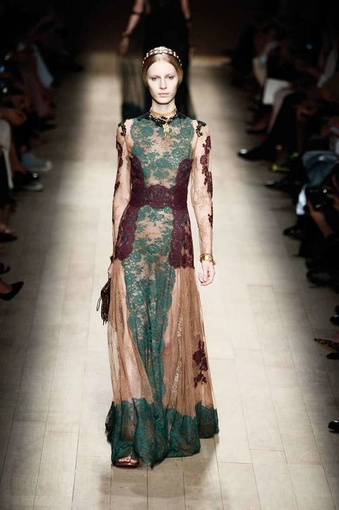 <p>Diseñador: Valentino. <strong>Paris Fashion Week</strong>.</p>