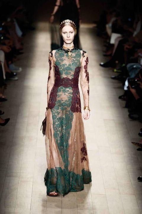 <p>Diseñador: Valentino. <strong>Paris Fashion Week</strong>.</p>