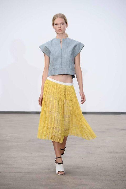 <p>Diseñador: Derek Lam. <strong>New York Fashion Week</strong>.</p>