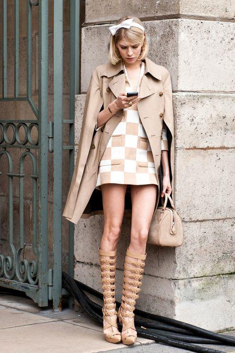 <p>Un toque sexy con el estampado estrella de Louis Vuitton con el que ha dejado sin palabras a todo el mundo este verano.</p>