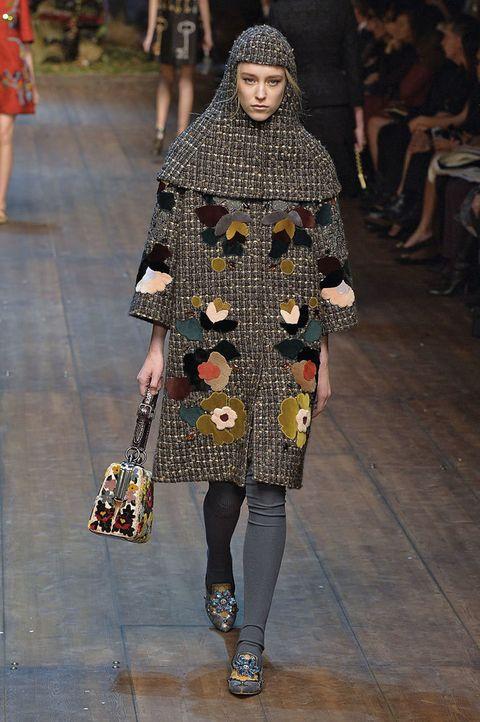 <p>Otoño/Invierno 2014-15.<strong>Diseñador:</strong>Dolce & Gabbana.</p>