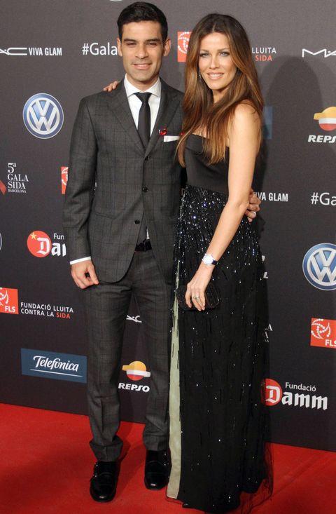 <p>También juntos acudieron <strong>Heidi Michel y Rafa Márquez</strong>, ella con un vestido negro con strass de <strong>GiorgioArmani</strong>.</p>