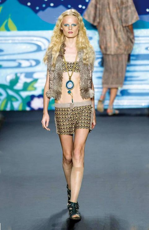 <p>Diseñador: Anna Sui. <strong>New York Fashion Week.</strong></p>
