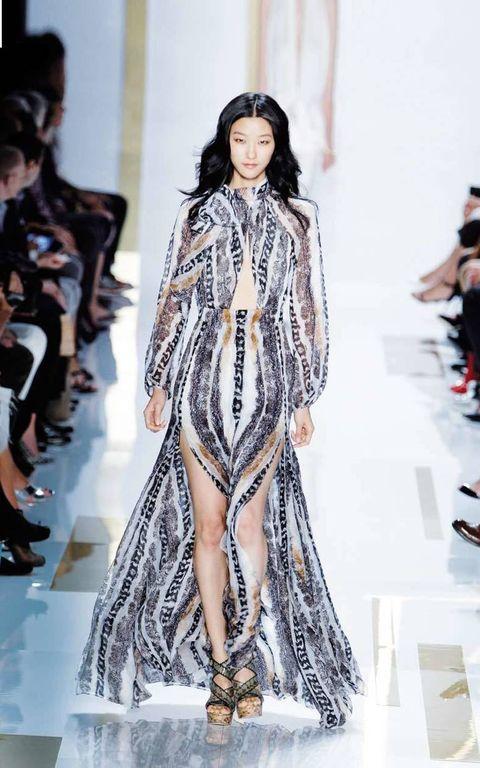 <p>Diseñador: Diane Von Fuerstenberg. <strong>New York Fashion Week.</strong></p>