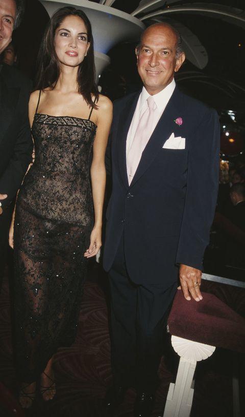 <p><strong>Eugenia Silva</strong> fue uno de los rostros de Oscar de la Renta en los 90. Durante años desfiló para él en Nueva York,</p>