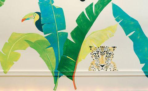<p>Detalle de los trampantojos pintados por Banca Ruiz de Villa Y Alejandra Basso.</p>