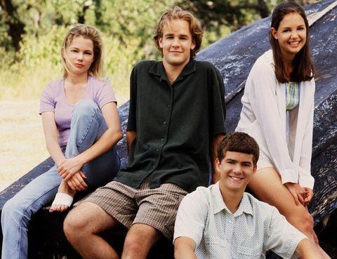 <p>Michelle se dio a conocer gracias a la serie de televisión <i>'Dawson´s Creek'</i>. Entre sus compañeros de reparto estaban <strong>Katie Holmes, Joshua Jackson</strong> (el novio de Diane Kruger) y <strong>James Van Der Beek</strong>.</p>