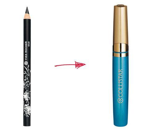 """<p>Aprovecha todos los trucos para resaltar tu bronceado: sustituye el delineador de ojos negro por uno en verde o aguamarina y obtén un """"look verano"""" al instante. <i>Lápiz Khol</i> (2,20 €) de <strong>Yves Rocher</strong> y <i>Eyeliner Profesional</i> de <strong>Collistar.</strong> </p>"""