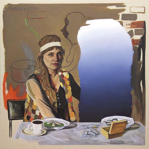 <p> … y su posfeminismo. La artista alemana crea pinturas de gran formato, donde el glamour, el dolor y las tensiones cotidianas conviven de extraña manera. <br /><strong>CAC Málaga, del 13 de diciembre al 16 de marzo.</strong> </p>