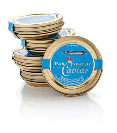 <p>Caviar 'Tsar Nikolay' (48 €) de<strong>Elite Gourmet</strong>.</p>