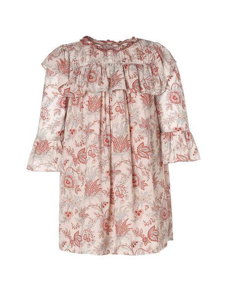 <p>El vestido de la <strong>Princesa Leonor</strong> es de la colección de otoño invierno de la firma <strong>Nanos</strong>.</p>