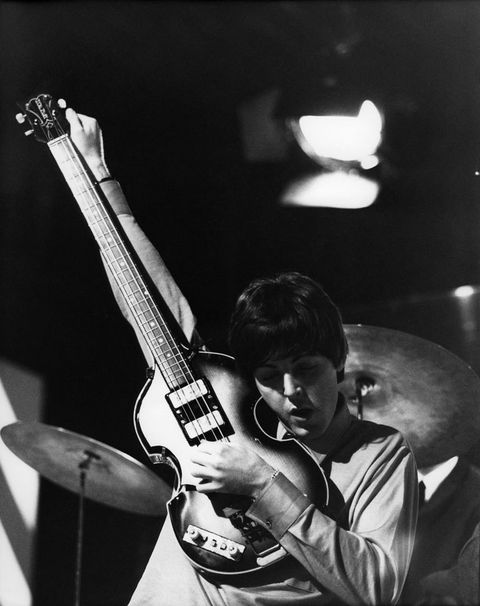 <p>Paul McCartney, en pleno concierto.</p>