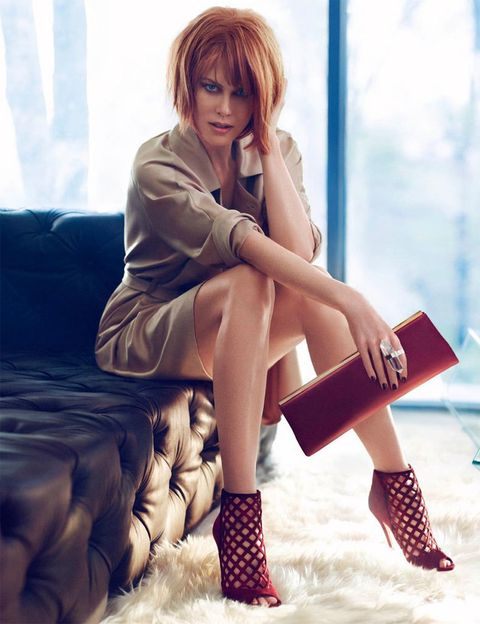 <p><strong>Modelo</strong>: Nicole Kidman <strong>Foto</strong>: Mikael Jansson <strong>Firma</strong>: Jimmy Choo</p>