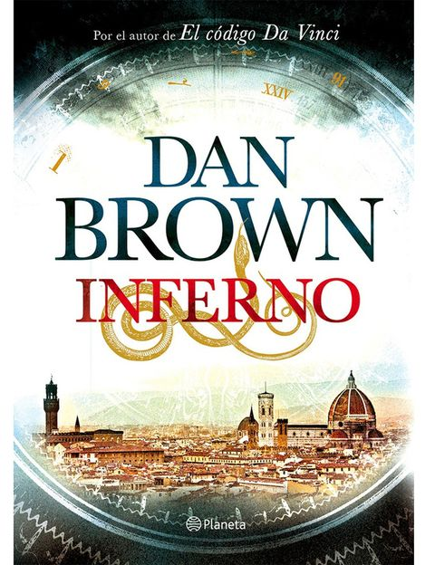 <p>Inferno, de Dan Brown, 22.50 €. Vuelve a repetir entre los más vendidos después de El Código Da Vinci, Ángeles y demonios... Y también repite protagonista: Langdon se ve arrastrado a un mundo terrorífico centrado en una de las obras maestras de la Literatura, el Infierno de Dante.</p>