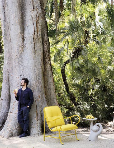 """<p>¿Qué tal una escapadita a la jungla? Y nos relajamos comiendo bananas servidas por este mayordomo tan simpático, la mesa <i>Monkey</i>, de Jaime Hayon para BD realizada en hormigón gris, ¡Súper mona! <a href=""""http://www.bd.com/"""" target=""""_blank""""><strong>www.bd.com</strong></a></p>"""