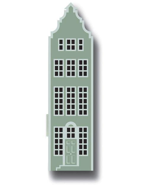 """<p>Esta casita holandesa es un armario de metal esmaltado, mod. Dutch House, 20x15, al. 76 cm, 126 €, en <a href=""""http://clareloves.co.uk"""" target=""""_blank"""">clareloves.co.uk </a></p>"""