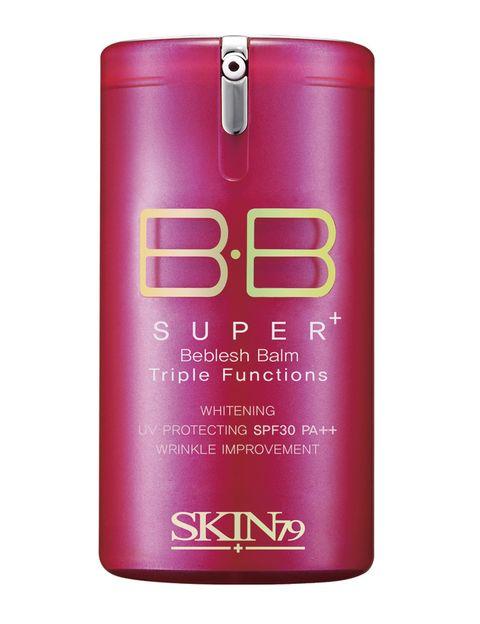 "<p>'Hot Pink BB Cream' (19,90 €), calma, ilumina y controla la grasa con SPF 30. De <a href=""http://skin79.es/bb-cream/587-hot-pink-super-plus-beblesh-balm.html"" target=""_blank"">Skin79</a>.</p>"