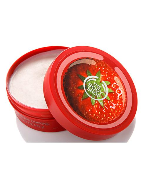 <p>'Manteca Corporal de Fresa' (15 €), de <strong>The Body Shop</strong>. Muy hidratante y cremosa. </p>