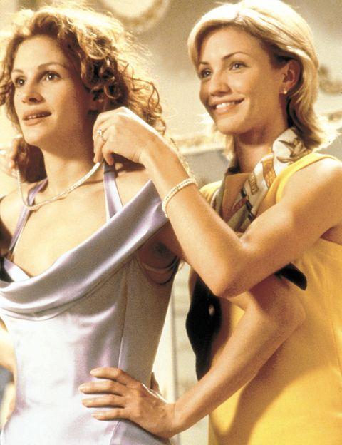<p>Julianne (Julia Roberts) es invitada al enlace de su mejor amigo (Dermot Mulroney), y tres días antes del acontecimiento se da cuenta de que es el amor de su vida. Solo tiene 72 horas para impedir que se case con Kimberly (Cameron Diaz)</p>