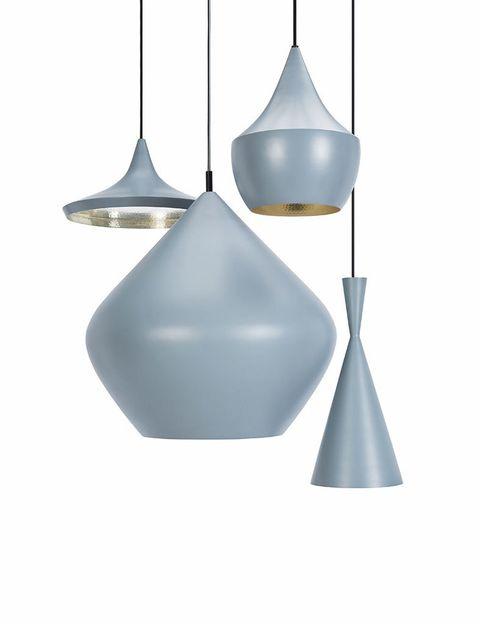 <p>Está el gris. Eso pensó Tom Dixon cuando ideó la col. de lámparas Beat Grey, desde 335 €/cu. </p>