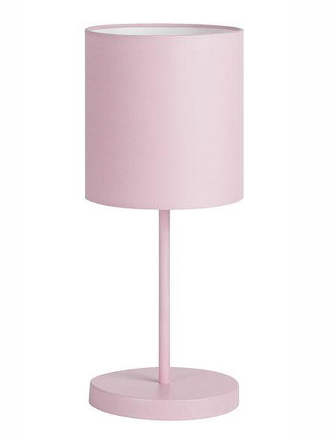 <p>La habitación de los más pequeños de la casa se llenará de alegría con esta lamparita metálica de <strong>Kids,</strong> modelo Nanos (24 €). Está disponible en blanco, azul o rosa.</p>