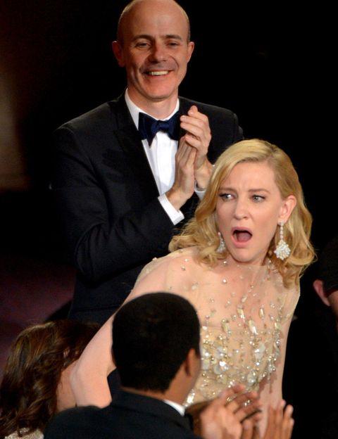 <p>¿En serio no te esperabas ganar? En serio, ¿cuánto tiempo llevabas ensayando esa cara? El premio a la sobre actuación que el año pasado dimos a Jennifer Lawrence este año te pertenece.</p>
