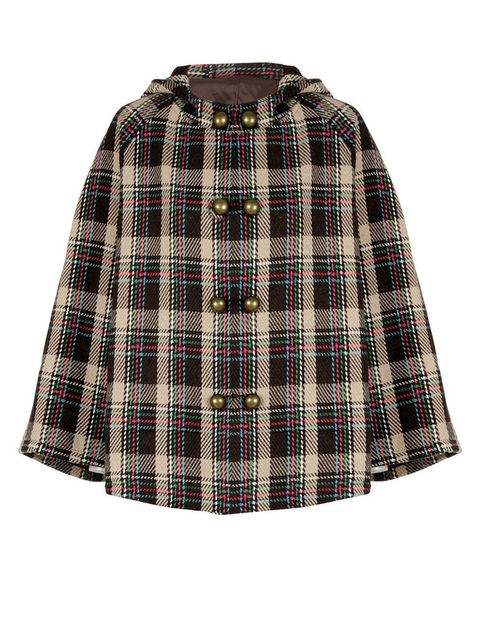 <p>¿Aún no conoces la campiña escocesa? Disfruta de tu viaje con atuendos como este abrigo estampado tipo college con detalle de corchetes y bolsillos. De <strong>Kling </strong>para <strong>EAT</strong> (antes: 99,90 €. Ahora: 79,95 €).</p>