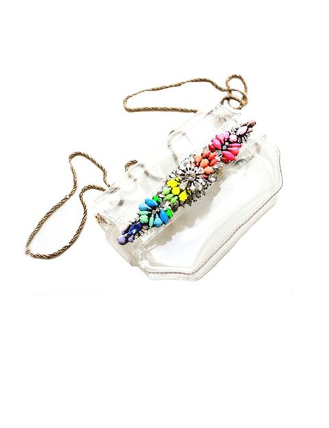 """<p>Caemos rendidamente enamoradas con este bolso para llevar con todo, día y noche. Es de<a href=""""http://www.nataliafrigentishop.com/"""" target=""""_blank""""> Natalia Frigenti.</a></p>"""