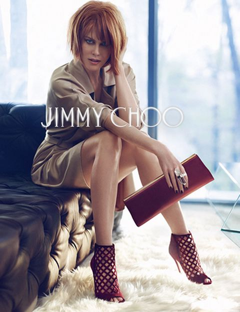 Nicole Kidman para Jimmy Choo