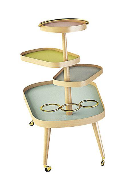 <p><i>Sushi Kart,</i> realizada en madera y cristal, de Colé, 1.469 €. </p>