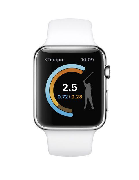 <p>El primer 'smartwatch' de <strong>Apple</strong> llega el día 26 a España y con numerosas 'apps' y funcionalidades centradas en el deporte. Mide tu actividad dividida en tres anillos ('movimiento', 'ejercicio' y 'de pie') que debes completar cada día. Si llevas demasiado tiempo sentada, te avisa de que es hora de levantarte y el sensor de frecuencia cardiaca te permite controlar las pulsaciones. </p>