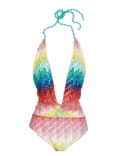 <p>Con estampado multicolor, de <strong>Missoni</strong> (360 €).</p>