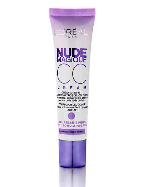 <p>CC Cream Nude Magique anti tono apagado de <strong>L'oreal</strong> (9,95€) (disponible en más variedades)</p>