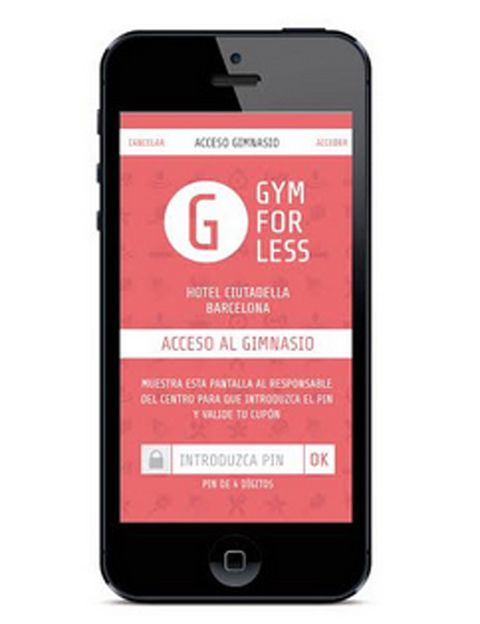 """<p>&nbsp;</p><p>¿Siempre tienes una excusa para no ir al gym? <strong>En <a href=""""http://www.gymforless.com"""" target=""""_blank"""">GymForLess</a> puedes comprar tanto pases de día como suscripciones mensuales</strong> de los más de 350 gimnasios que hay en esta plataforma. Perfecto si no quieres comprometerte con ningún gimnasio, prefieres probar varios antes de decidirte o viajas mucho. Entre su gran oferta de clubes están <strong>Holmes Place, O2, Eurofitness-Ubae, Accura o Reebok. Psst</strong>. Puedes encontrar la aplicación de GymForLess en la App Store para iPhone y en Google Play para Android. Por geolocalización podrás ver qué gimnasios cercanos tienen pases de un día.&nbsp;</p><p>&nbsp;</p>"""
