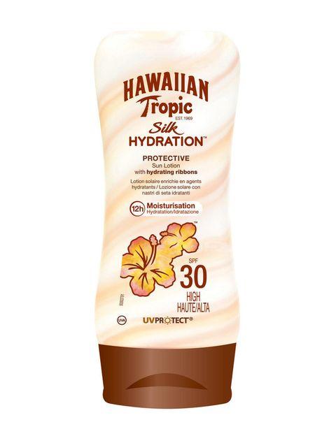 <p>'Silk Hydration', de <strong>Hawaiian Tropic</strong>. Protección solar con cintas de seda, que hidratan y protegen la piel durante doce horas. </p>