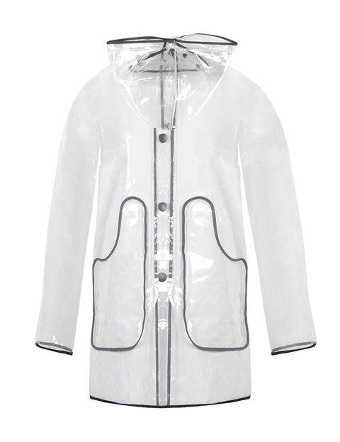 <p>Un impermeable transparente como éste de <strong>Kling</strong> (29,95 €) es la prenda perfecta para un look 10 de lluvia.</p>