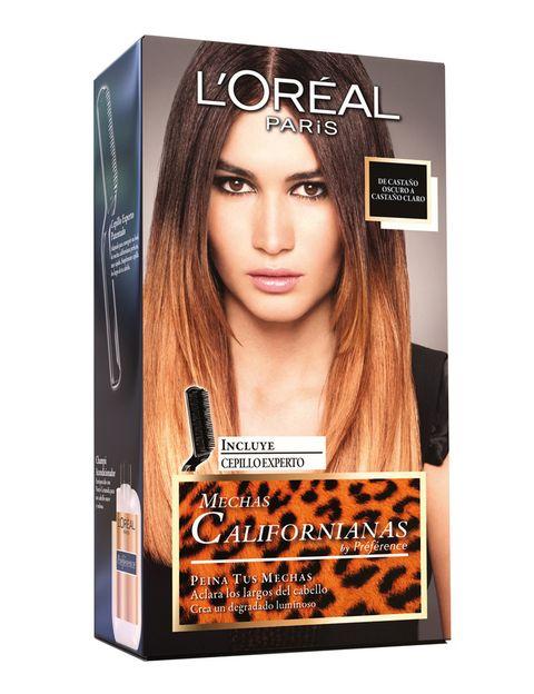 <p>'Mechas californianas' (8,50 €), tinte de pelo de <strong>L'Oréal</strong>.</p>