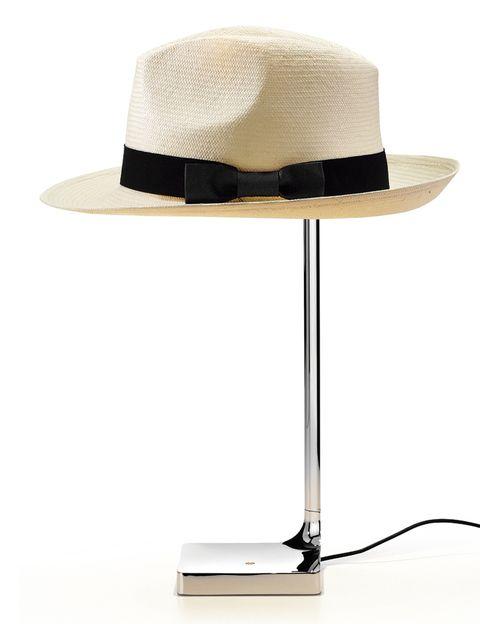 <p>Es el gesto que emula la lámpara de sobremesa Chapo, de Philippe Starck para Flos, 360 €. </p>