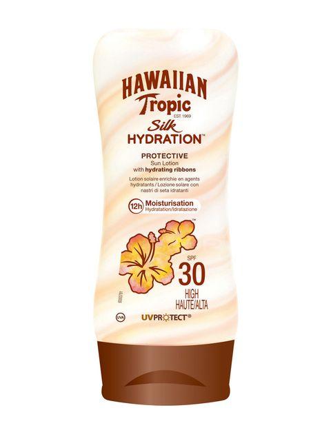 <p>'Silk Hydration', protector solar hidratante de <strong>Hawaiian Tropic</strong>.</p>