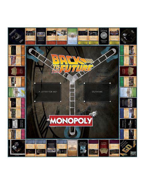 """<p>El Monopoly de 'Regreso al futuro' te propone viajar por todas las eras de la saga (desde el salvaje oeste hasta 2015) acompañado de los principales personajes. Lo encontrarás en <a href=""""http://www.amazon.co.uk/Back-to-the-Future-Monopoly/dp/B00VGI2NFK"""" target=""""_blank"""">Amazon</a> por 40,74 euros (aprox.).</p>"""