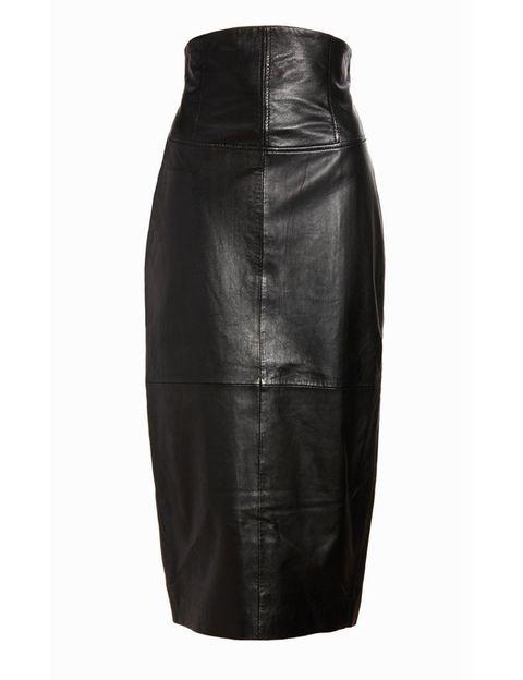 <p>Falda de tubo con talle alto, de <strong>Asos </strong>(124 €).</p>